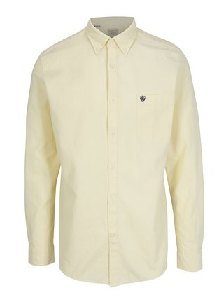 Camasa galben deschis regular fit - Selected Homme