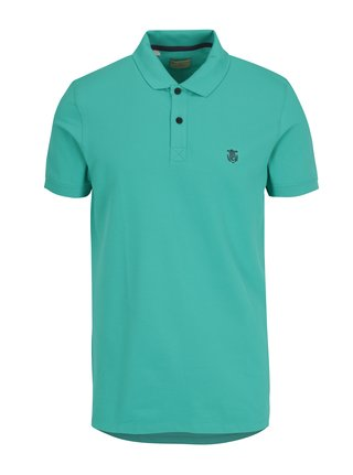 Tricou polo verde - Selected Homme Haro