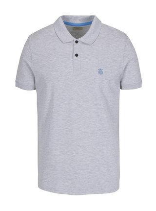 Tricou polo gri violet - Selected Homme Haro