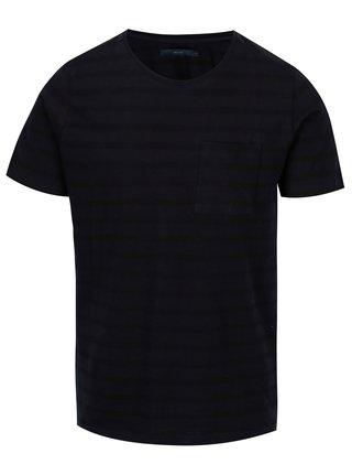 Tricou bleumarin cu buzunar - SUIT Nimbus
