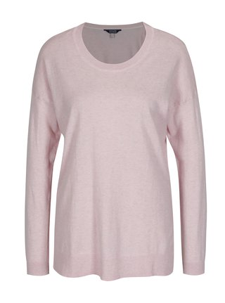 Pulover roz deschis din bumbac pentru femei - Tom Joule Sally