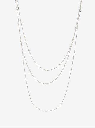 Řetízek ve stříbrné barvě Pieces Jannice