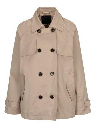 Béžový dámský krátký kabát Broadway Breena e6fdadb108