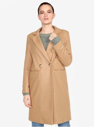 0fdce1a3431 Béžový kabát ZOOT