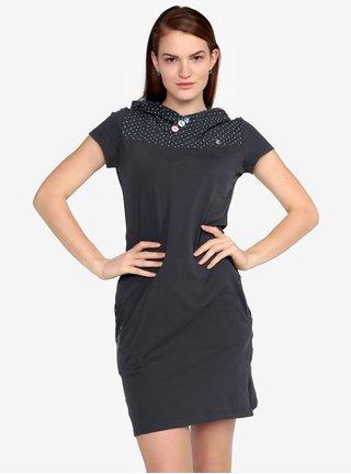Rochie gri inchis cu gluga - Ragwear Chelsea Dress