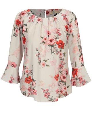 Ružovo–biela kvetovaná blúzka Billie & Blossom