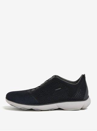 Pantofi sport negru&albastru cu perforatii pentru barbati - Geox Nebula