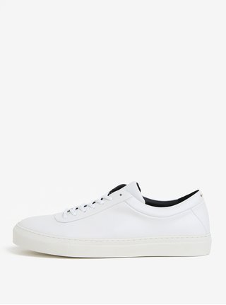 Tenisi albi din piele pentru barbati - Royal RepubliQ