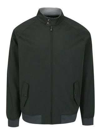 Jacheta subtire verde inchis pentru barbati - Burton Menswear London