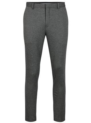 Sivé melírované oblekové nohavice Selected Homme Zero-Merce
