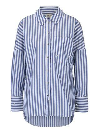 Bielo-modrá pruhovaná košeľa ONLY Melrose