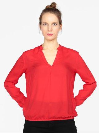 Tunica rosie cu maneci lungi pentru femei -  s.Oliver