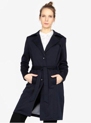 Tmavě modrý dámský kabát s.Oliver 1ce855c716
