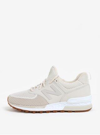 Pantofi sport crem pentru femei New Balance WS574