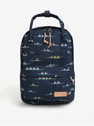 Rucsac bleumarin cu imprimeu - Eastpak Break Off Padded Shop´r 15 l