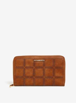 Hnedá veľká peňaženka s puzdrom na doklady Bessie London