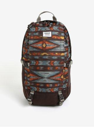 Hnědý vzorovaný batoh Burton Sleyton 23 l