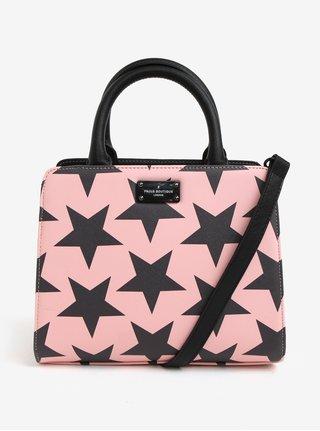 Geanta mica roz cu print stele Paul's Boutique Logan