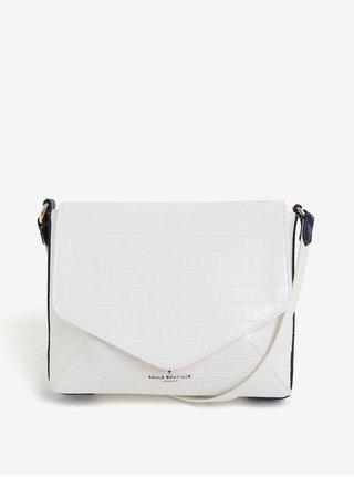 Bílá crossbody kabelka s jemným vzorem Paul´s Boutique Raffie
