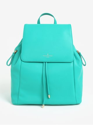 Tyrkysový koženkový batoh Paul's Boutique Celine