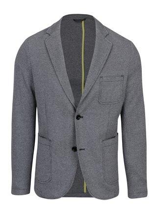 Sacou bleumarin cu gri cu nasturi pentru barbati  s.Oliver