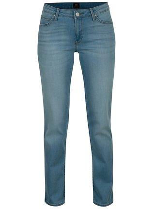 Blugi albastri straight fit pentru femei - Lee Marion