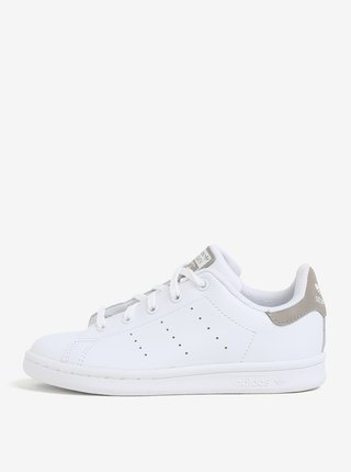 Bílé dětské kožené tenisky adidas Originals
