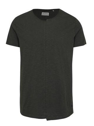 Tmavě šedé tričko s krátkým rukávem Shine Original
