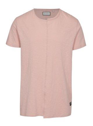 Růžové tričko s krátkým rukávem Shine Original