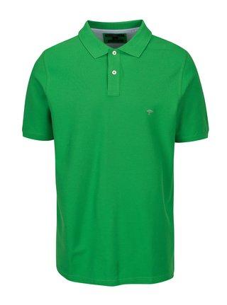 Zelené polo tričko s krátkým rukávem Fynch-Hatton