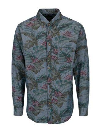 Modrá košile s potiskem Fynch-Hatton