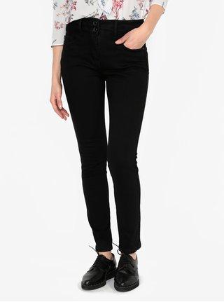 Černé zkrácené slim fit džíny M&Co