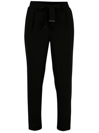 Čierne nohavice s mašľou Dorothy Perkins