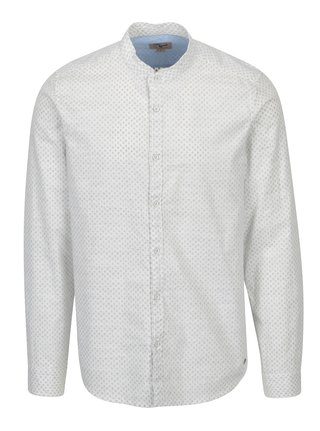 Krémová pánská vzorovaná košile Garcia Jeans Heren