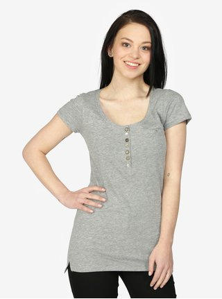 Šedé tričko s krátkým rukávem Haily's Edda