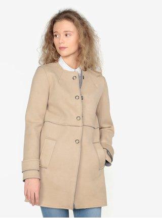 a112010f0cb Béžový kabát v semišové úpravě ZOOT