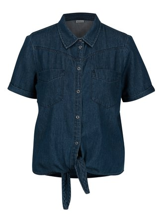 Camasa din denim cu maneca scurta - Noisy May Zoey