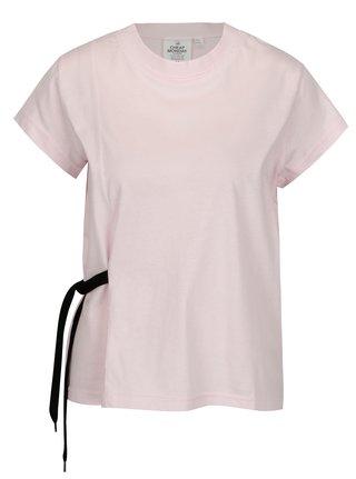 Světle růžové dámské tričko Cheap Monday