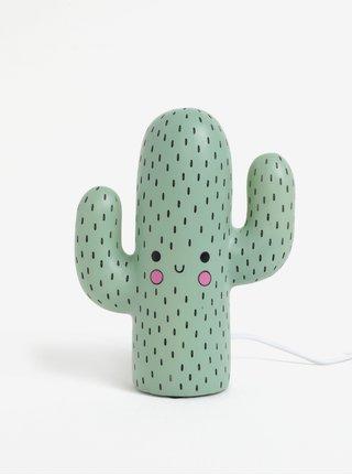 Zelená lampa ve tvaru kaktusu Disaster Cactus