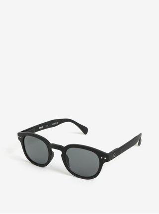 Čierne unisex slnečné okuliare IZIPIZI #C