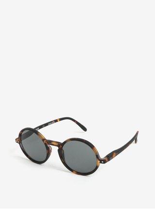 Čierne vzorované unisex slnečné okuliare IZIPIZI  G 3b6dc856081