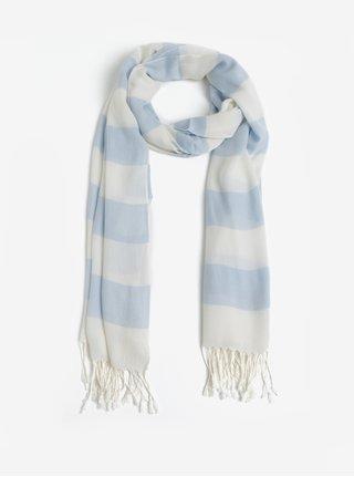 Světle modrý dámský pruhovaný šátek GANT