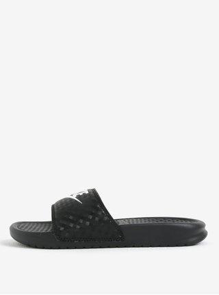 Černé dámské pantofle Nike Benassi Jdi