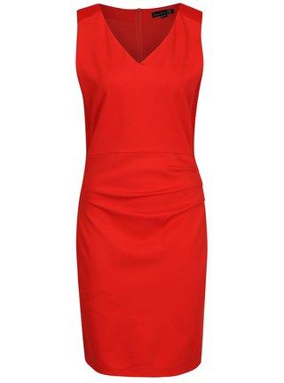 Červené puzdrové šaty Smashed Lemon