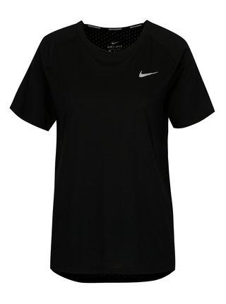 Tricou sport negru pentru femei Nike Tailwind