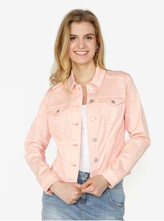 Jacheta roz din denim pentru femei - QS by s.Oliver