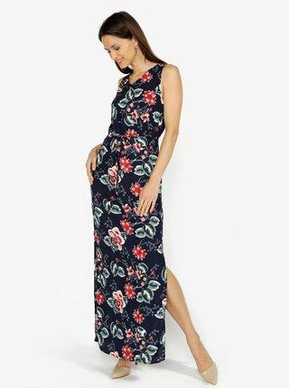 Rochie bleumarin cu print floral - VERO MODA Simply