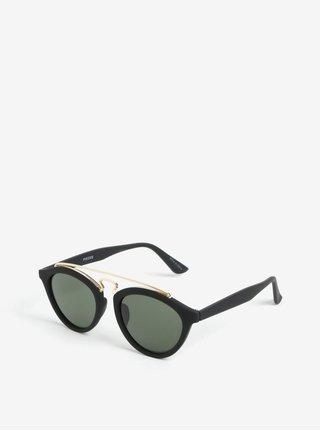 Čierne slnečné okuliare Pieces Ginna