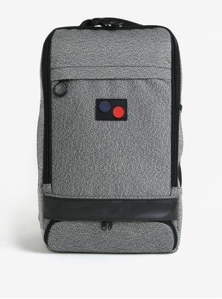 Sivý melírovaný batoh pinqponq Cubik Large 22 l