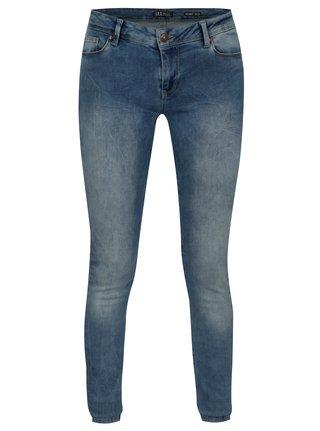 Blugi albastri skinny pentru femei - Cars Victoria